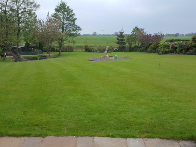 Glazebury lawn treatment
