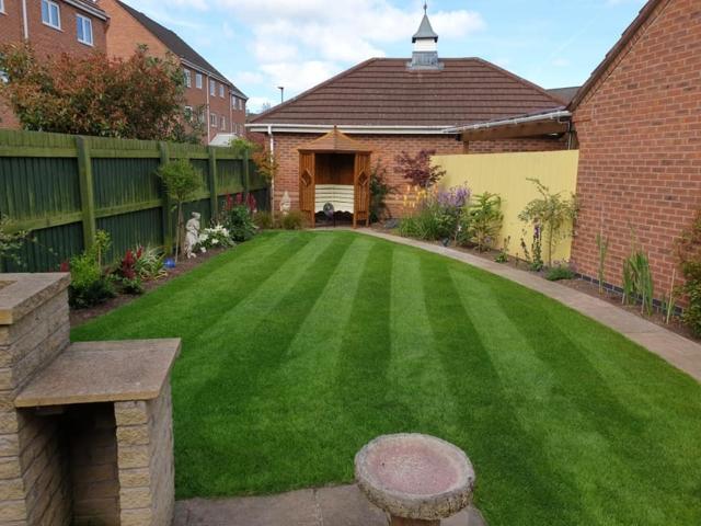 Lawn treatment Warrington
