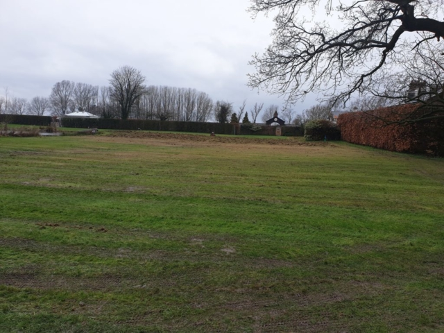 Lawn Scarifying in Marthall