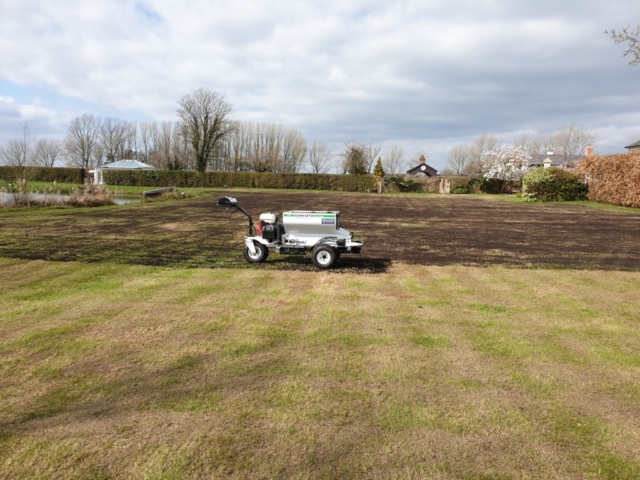 Lawn Renovation in Marthall