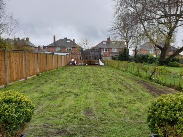 Lawn scarification in Northwich