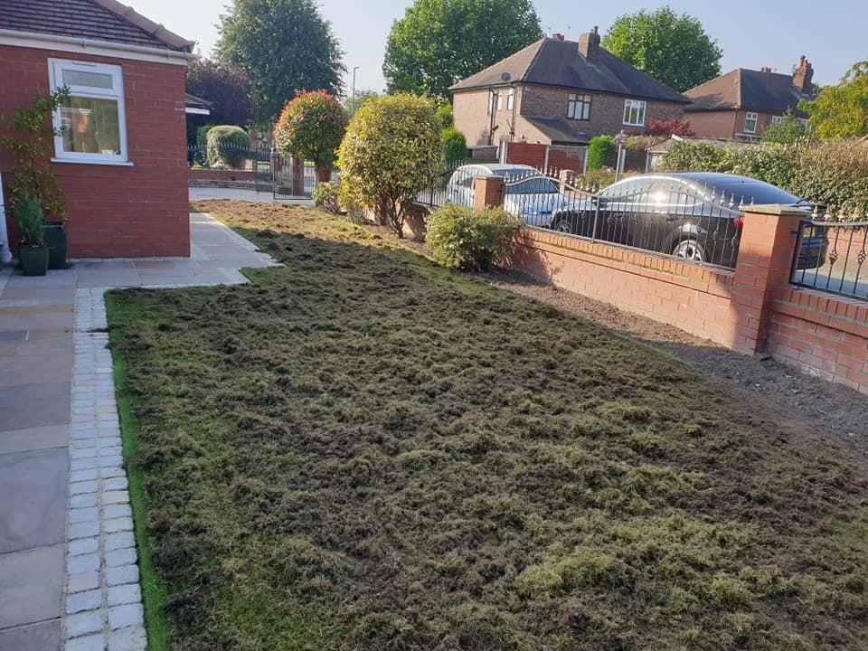 Lawn scarification Warrington