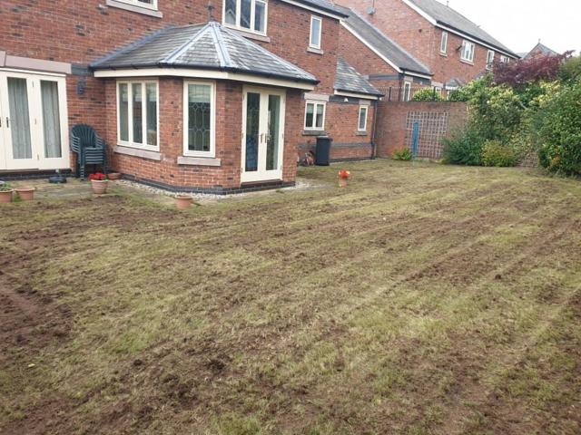 Lawn renovation Warrington